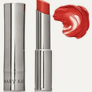 Coral Bliss True Dimentions lipstick by Mary kay